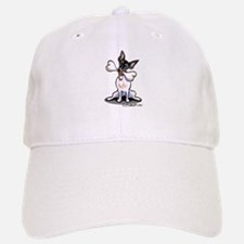 Rat Terrier Bone Baseball Baseball Cap