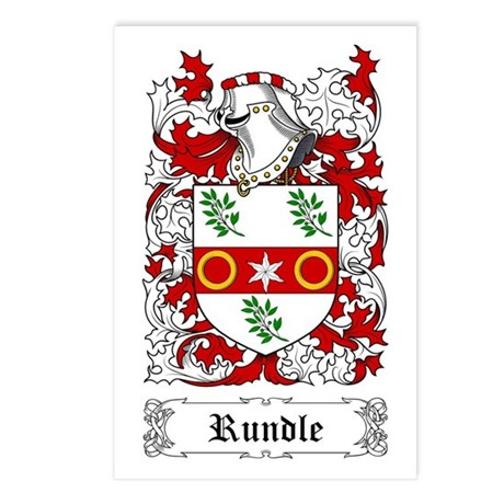 Rundle Postcards (Package of 8)