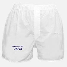 Thank God For Jayla Boxer Shorts