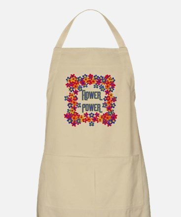 Flower Power Light Apron