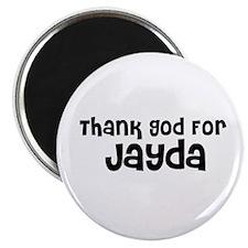 "Thank God For Jayda 2.25"" Magnet (10 pack)"