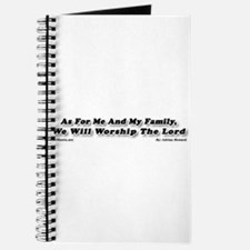As For Me And My Family, We W Journal