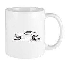 70 Mustang Fastback Mug