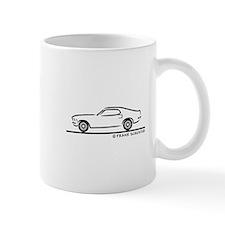 70 Mustang Fastback Small Mug