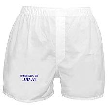 Thank God For Jayda Boxer Shorts
