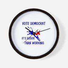 DEMOCRATS OUT Wall Clock