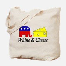 Whine and Cheese Tote Bag