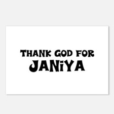 Thank God For Janiya Postcards (Package of 8)