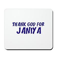 Thank God For Janiya Mousepad