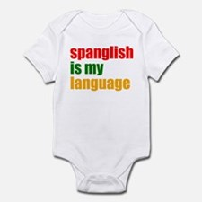 spanglish Infant Bodysuit