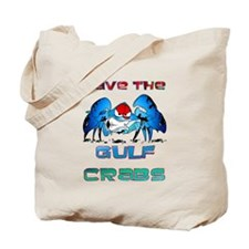 Save the GULF CRABS Tote Bag