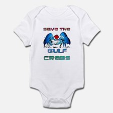 Save the GULF CRABS Infant Bodysuit
