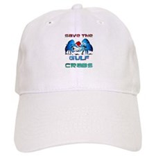 Save the GULF CRABS Baseball Cap