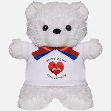 Funny 1 year anniversary Teddy Bear
