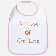 Attitude of Gratitude Bib