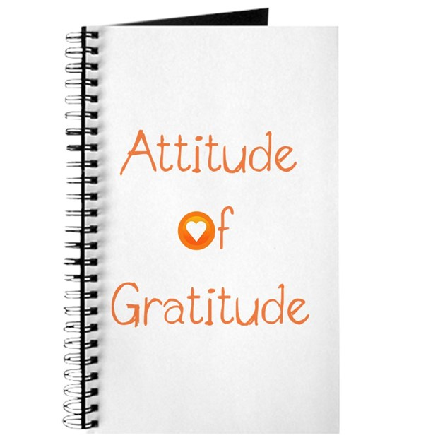Attitude Of Gratitude Journal By DeluciousDesigns