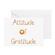 Attitude of Gratitude Greeting Card