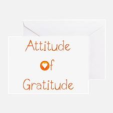 Attitude of Gratitude Greeting Card