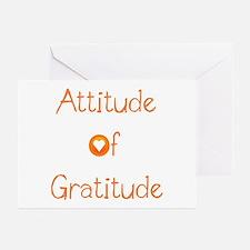 Attitude of Gratitude Greeting Cards (Pk of 20)