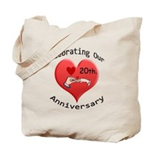 Cute Wedding anniversary party Tote Bag