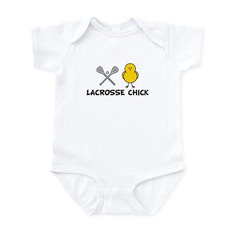 Lacrosse Chick Infant Bodysuit