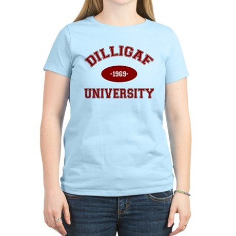 DILLIGAF University - Women's Light T-Shirt