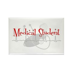 Medical Students Rectangle Magnet