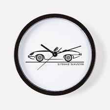 Jaguar E-Type Roadster Wall Clock