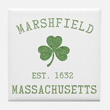 Marshfield MA Tile Coaster