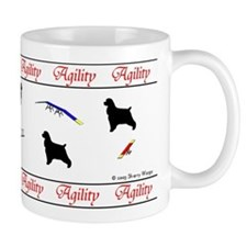 Cockers Love Agility Small Mug