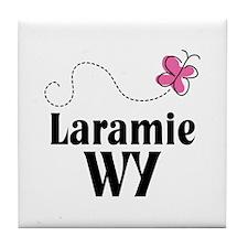 Cute Laramie Wyoming Tile Coaster