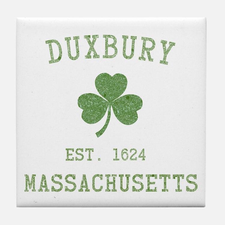 Duxbury MA Tile Coaster