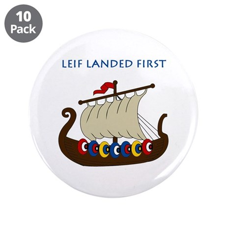 "Leif 3.5"" Button (10 pack)"