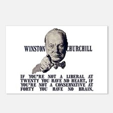 Churchill on Conservatives Postcards (Package of 8