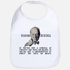 Churchill on Conservatives Bib
