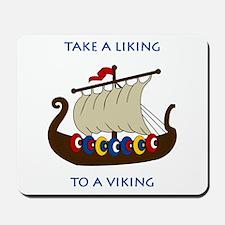 Liking Vikings Mousepad