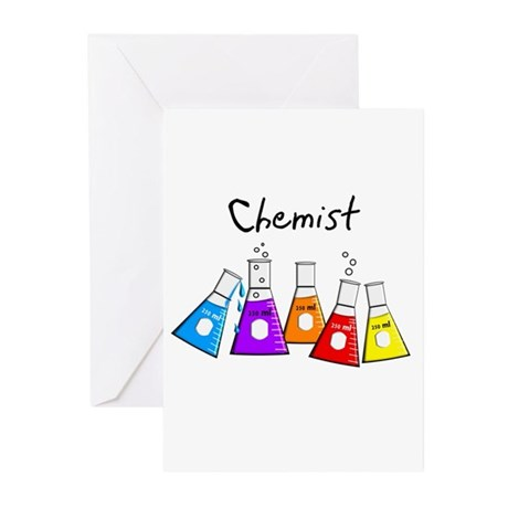 Chemist Greeting Cards (Pk of 10)