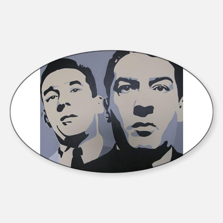 Bad Boys Oval Bumper Stickers