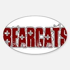 BEARCATS *16* Sticker (Oval)