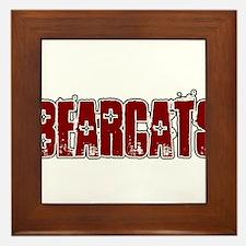 BEARCATS *16* Framed Tile