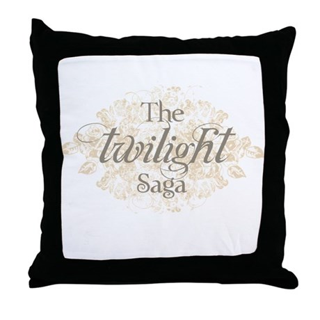 The Twilight Saga Throw Pillow