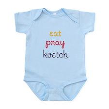 Eat-Pray-Kvetch Infant Bodysuit