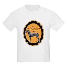 Deerhound excuse Kids T-Shirt