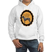 Deerhound excuse Hoodie