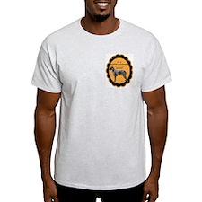 Deerhound excuse Ash Grey T-Shirt