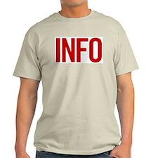 Info (red) T-Shirt