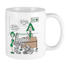 Have a Bigger Plate Small Small Mug
