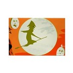 Witchy Rectangle Magnet (10 pack)