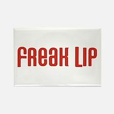Freak Lip Rectangle Magnet