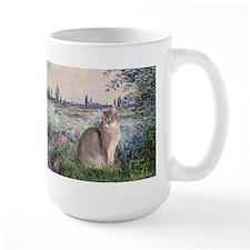 Seine / Blue Abbysinian cat Mug